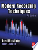 Modern Recording Techniques Book PDF