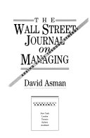 The Wall Street Journal on Managing