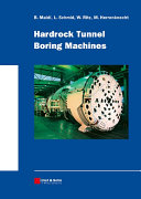 Hardrock Tunnel Boring Machines [Pdf/ePub] eBook