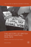 Pdf The History of British Women's Writing, 1945-1975 Telecharger