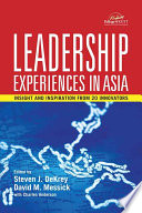 Leadership Experiences in Asia