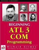Beginning ATL 3 COM Programming
