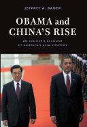 Obama and China's Rise Pdf/ePub eBook
