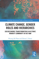 Climate Change  Gender Roles and Hierarchies