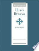 """Encyclopedia of Human Behavior"" by Vilayanur S. Ramachandran"