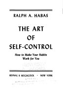 The Art Of Self Control