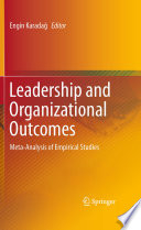 Leadership and Organizational Outcomes
