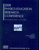 2008 Physics Education Research Conference