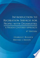 Introduction to Recreation Services for People with Disabilities, 4th Ed