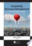 Hospitality Revenue Management Book