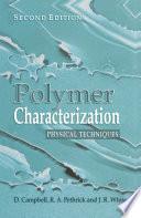 Polymer Characterization Book