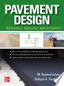 Pavement Design Materials Analysis And Highway Applications Book PDF