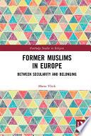 Former Muslims In Europe