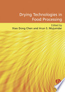 Drying Technologies In Food Processing Book PDF