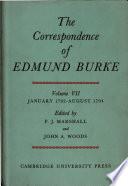 The Correspondence of Edmund Burke
