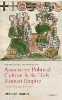 Associative Political Culture in the Holy Roman Empire