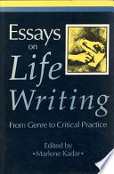 Essays on Life Writing