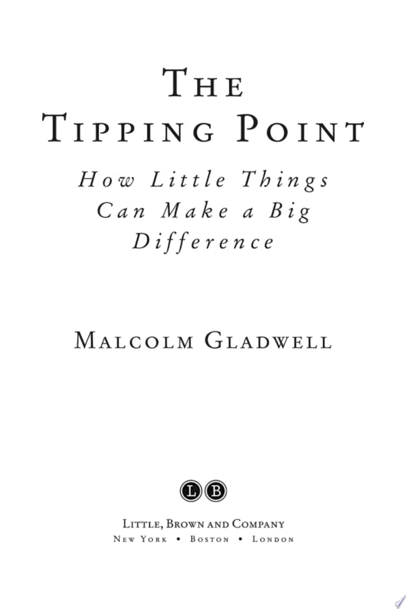 The Tipping Point banner backdrop