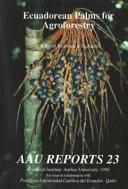 Ecuadorean Palms for Agroforestry