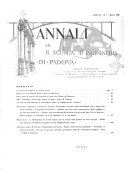 Annali della Scuola d'ingegneria di Padova