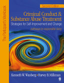Criminal Conduct and Substance Abuse Treatment: Strategies For Self-Improvement and Change, Pathways to Responsible Living
