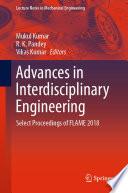 Advances in Interdisciplinary Engineering