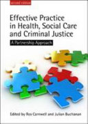 Effective Practice In Health  Social Care And Criminal Justice