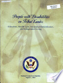 People with disabilities on tribal lands Book