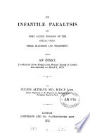 On Infantile Paralysis And Some Allied Diseases Of The Spinal Cord Book PDF