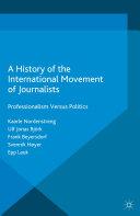A History of the International Movement of Journalists [Pdf/ePub] eBook