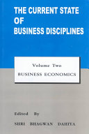 The Current State Of Business Disciplines Business Economics