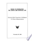 Report Of Investigation