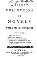 A Select Collection of Novels in Six Volumes: The happy slave