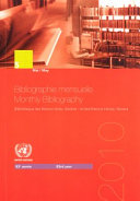 Bibliographie Mensuelle Monthly Bibliography