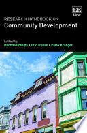 Research Handbook on Community Development