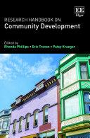 Research Handbook on Community Development Pdf/ePub eBook