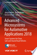 Advanced Microsystems for Automotive Applications 2018 Book