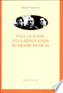 Paul Claudel Et La Renovation