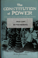 The Constitution of Power