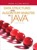 Cover of Data Structures and Algorithm Analysis in Java