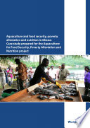 Aquaculture and food security  poverty alleviation and nutrition in Ghana  Case study prepared for the Aquaculture for Food Security  Poverty Alleviation and Nutrition project Book
