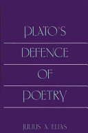 Plato s Defence of Poetry