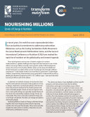 Nourishing millions  Stories of change in nutrition  Synopsis