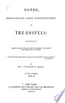 Notes Practical And Expository On The Gospels