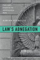 Law's Abnegation