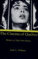 The Cinema of Québec