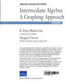 Intermediate Algebra a Graphing Approach Book PDF