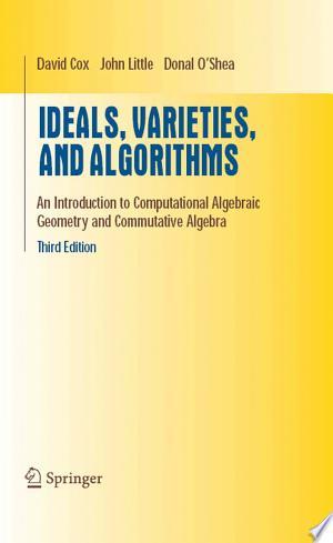 Download Ideals, Varieties, and Algorithms online Books - godinez books