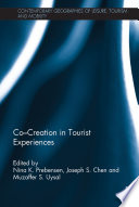 Co   Creation in Tourist Experiences Book PDF
