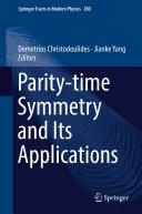 Parity-time Symmetry and Its Applications Pdf/ePub eBook